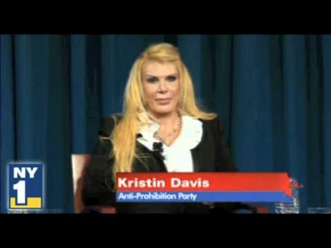Kristin Davis 2010 New York Gubernatorial Debate