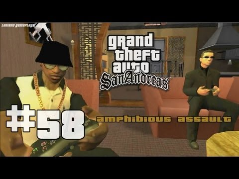 GTA San Andreas #58 - PREVIA AMPHIBIOUS ASSAULT