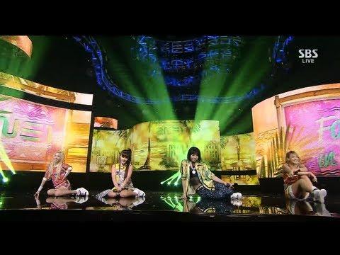 2NE1_0728_SBS Inkigayo_FALLING IN LOVE
