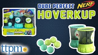 Nerf Dude Perfect Party Game - HoverKup [Review & Instructions] | Hasbro Toys & Games
