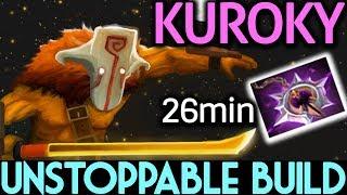 Kuroky Dota 2 [Juggernaut] Unstoppable Build   26min Nullifier