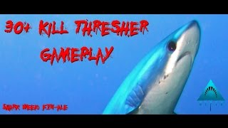 Depth |Gameplay| 30+ Kills Shark Game (Thresher)