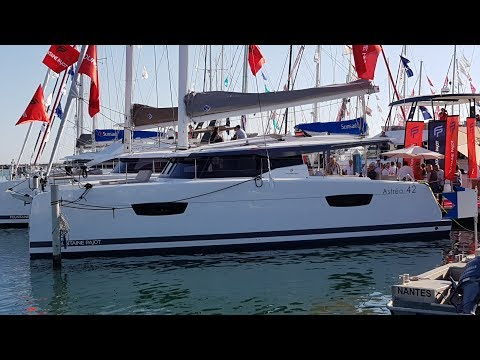 Fountaine Pajot 42 Astrea 2018 catamaran at La Grande Motte