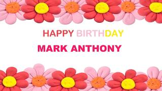 Mark Anthony   Birthday Postcards & Postales7 - Happy Birthday