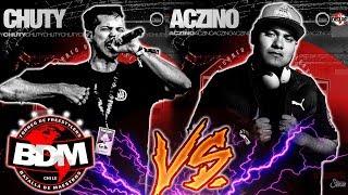 CHUTY vs ACZINO (FINAL INTERNACIONAL) BDM CHILE 2018  ¡¡IMPRESIONANTE BATALLÓN!!