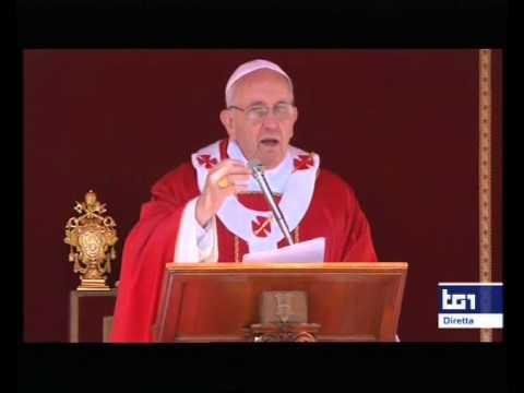 Omelia di Papa Francesco nella messa di Pentecoste