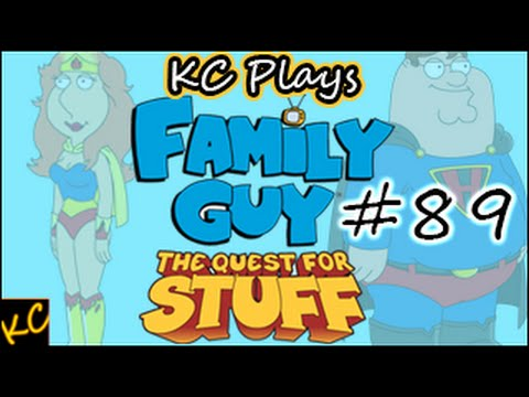 Kc Plays! - Family Guy: The Quest For Stuff | Harpoon Grinding! | #89 video