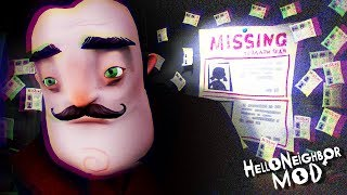 OK.. THIS IS CREEPING ME OUT. || Hello Neighbor Beta 3 (MODS)