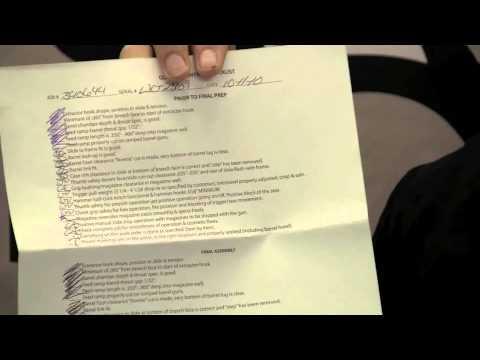 Wilson Combat - Quality Control Checklist