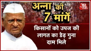 Anna Hazare To Go On A Hunger Strike Starting Today | Ek Aur Ek Gyarah