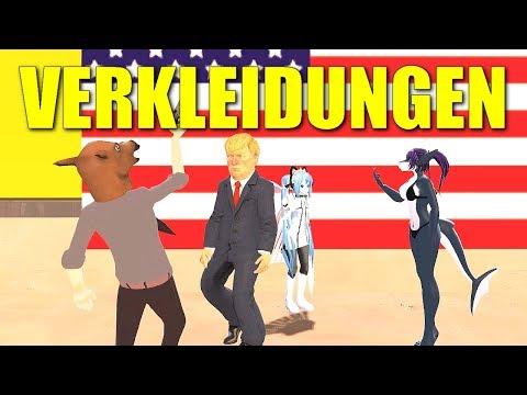 VERKLEIDETE IDIOTEN - Gmod Deathrun Funny Moments (Garry's Mod Gameplay German/Deutsch)