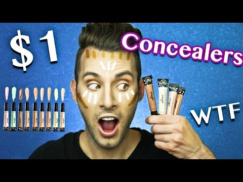 $1 CONCEALERS TESTED! | AliExpress