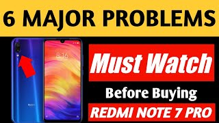 Redmi Note 7 Pro Review: 6 Major Problems & Solution. Must watch before buying Redmi Note 7 Pro.
