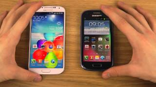 Samsung Galaxy S4 vs. Samsung Galaxy S3 Mini - Review