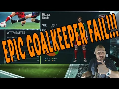 FIFA 14 EPIC FAIL GOALKEEPER ONLINE SERIES!!!