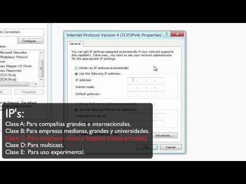 Como configurar una dirección IP estática en Windows 8