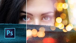 Tutorial Photoshop | Efecto Bokeh