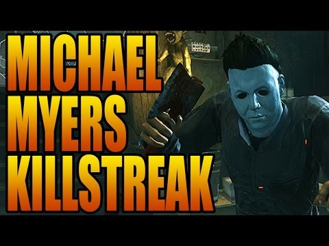 Call of Duty: Ghosts - MICHAEL MYERS KILLSTREAK GAMEPLAY! New Onslaught DLC Fog Mode (COD Ghost)