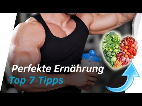 TOP 7 TIPPS für eine gesunde Ernährung - Ernährungs-Prinzipien für Sportler | Andiletics