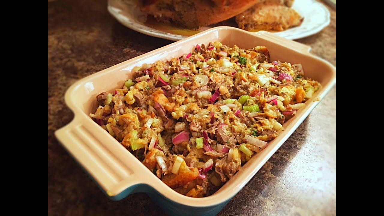 Old fashioned bread stuffing 71