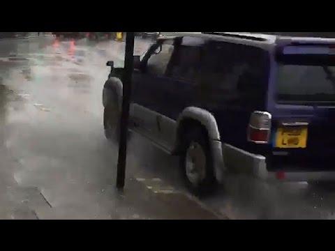 Police in Camden hunt serial puddle splasher
