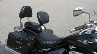 Suzuki Boulevard C50T Bakup Drivers backrest installation