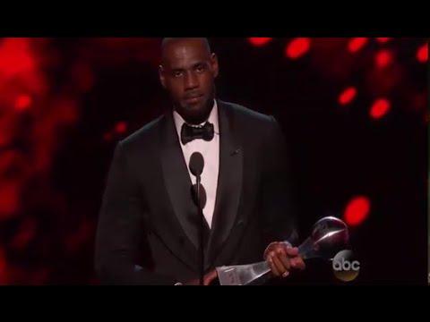 ESPYS 2016 - LeBron James Wins Best Male Athlete