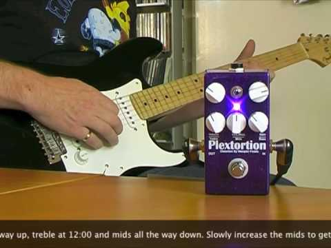 Wampler Pedals: Plextortion with Strat