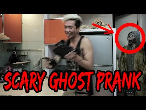 EPIC SCARY GHOST PRANK!!