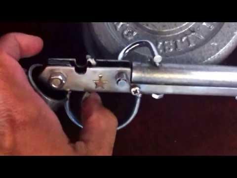 ปืนแก๊ปสั้นทำจากเหล็กเศษเหลือใช้