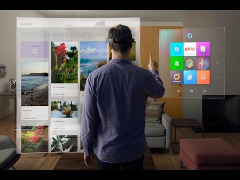 Революционный Windows 10 бесплатно, HoloLens - невероятный шлем дополненной реальности. Battletoads.