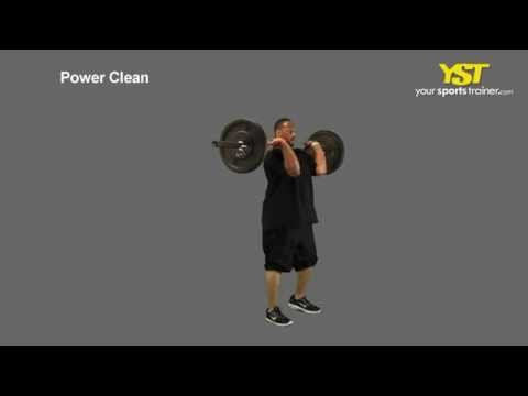 Power Clean Exercise Image 1
