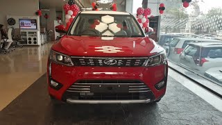 2019 Mahindra XUV300 W8 | Dual Tone Red Colour | Exterior and Interior | Walk Around