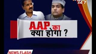 Sacked AAP minister Kapil Mishra briefs LG Anil Baijal on water tanker scam