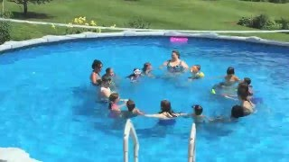 Summer Art Camp 2015 Synchronized Swimming