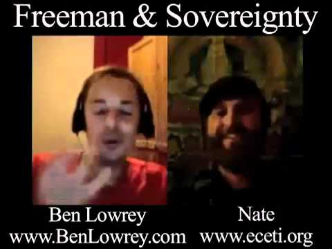 Ben Lowrey interviewed by Nate from Eceti.org. Discussing Freedom and Sovereignty..mp4