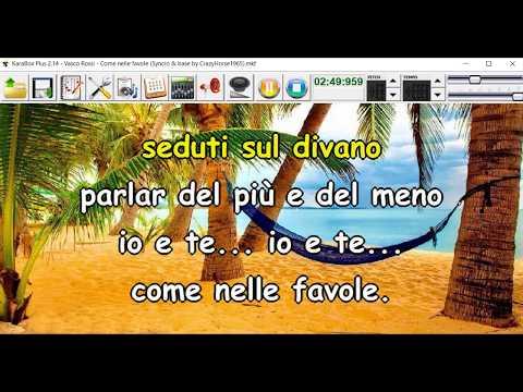 Vasco Rossi - Come nelle favole (Syncro by CrazyHorse1965) Karabox - Karaoke