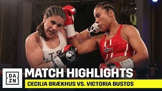 HIGHLIGHTS | Cecilia Braekhus vs. Victoria Bustos