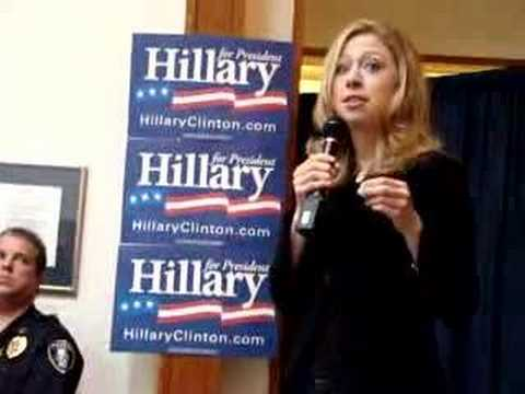 Chelsea Clinton at Duke
