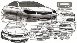 2014 Qoros Sedan Design sketches revealed - Horsepower suv mpv - New Model next gen redesign
