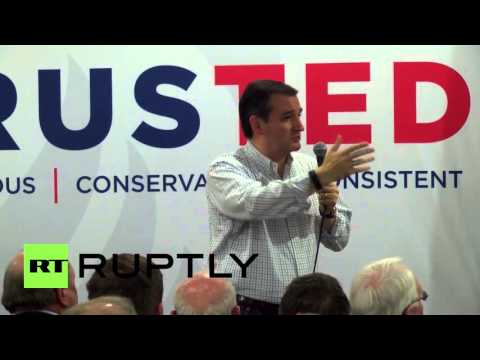 """USA: """"I would not have invaded Iraq"""" - Ted Cruz"""