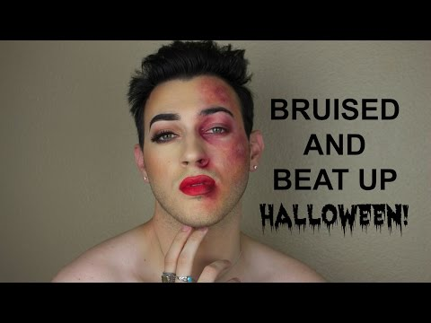 How To: Bruises and Black Eye Makeup Tutorial (Halloween) | Mannymua
