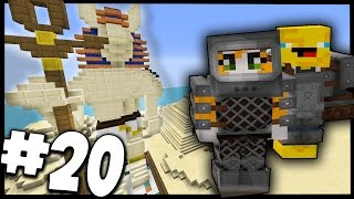 Minecraft - TIME TRAVELLERS! - PHARAOH'S TREASURE! #20 W/Stampy & Ash!