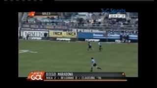 Top 10 goal of Diego Maradona