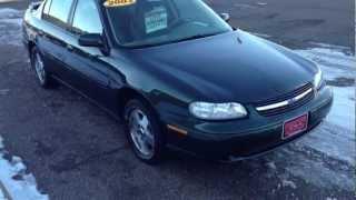 2003 Chevrolet Malibu LS Green Hometown Motors of Wausau Used Cars