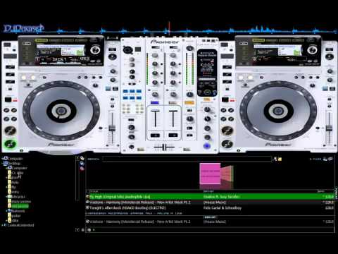 Virtual DJ Skin Pioneer CDJ2000 DJM900+ DOWNLOAD
