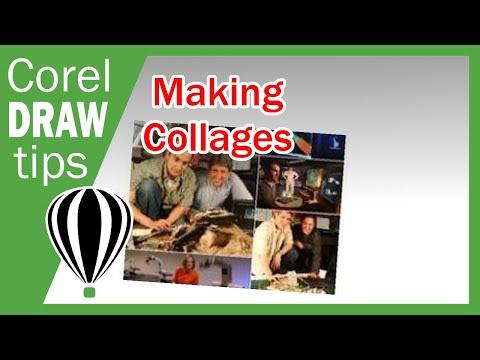 Making Collage in CorelDraw X3