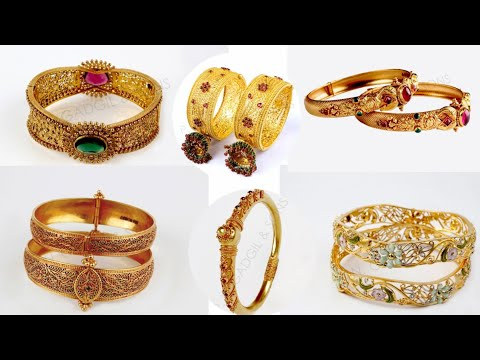 Latest Gold Bangles design | ladies | chudiya 2018 | Gold jewellery | Sone ke kangan | Bollywood