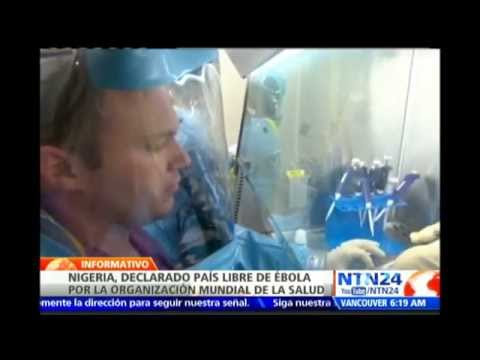 OMS declara que Nigeria es oficialmente un país libre de Ébola