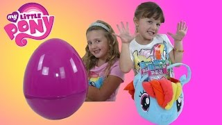 My Little Pony Giant Surprise Egg + Rainbow Dash Surprise Basket | The Disney Toy Collector